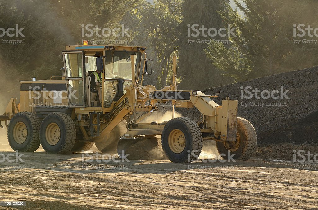Road Grader stock photo