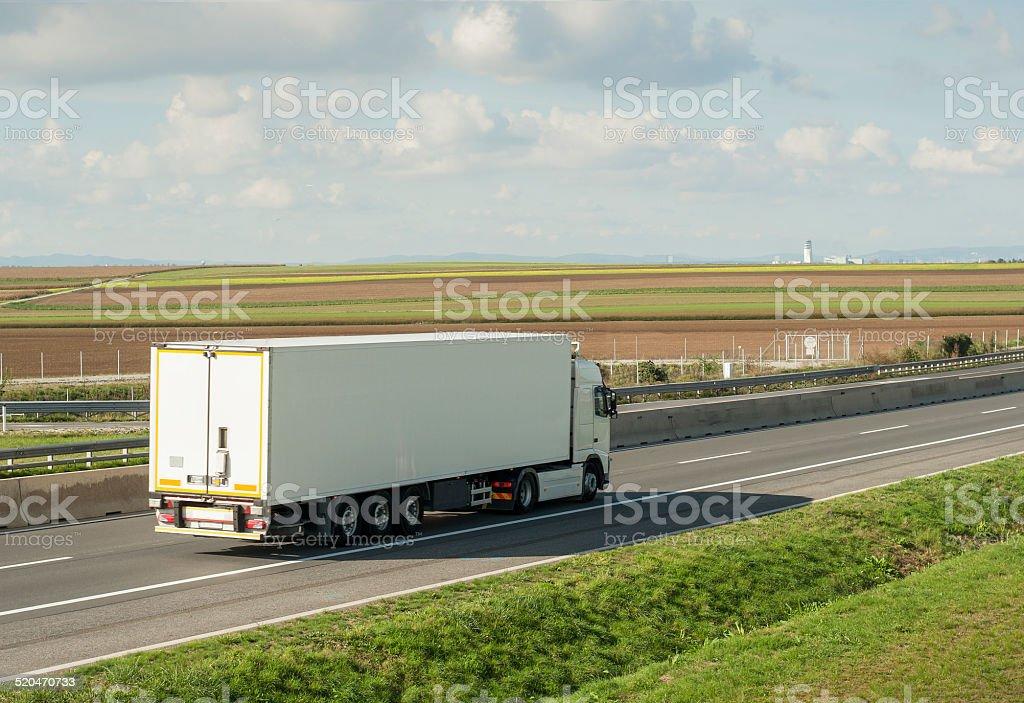 Road Haulage stock photo