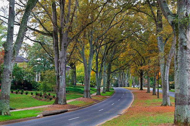 Road in Charlotte, North Carolina