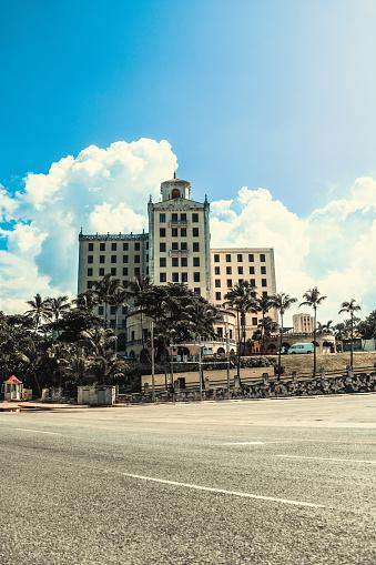 Road In Front Of Hotel Nacional In Havana, Cuba