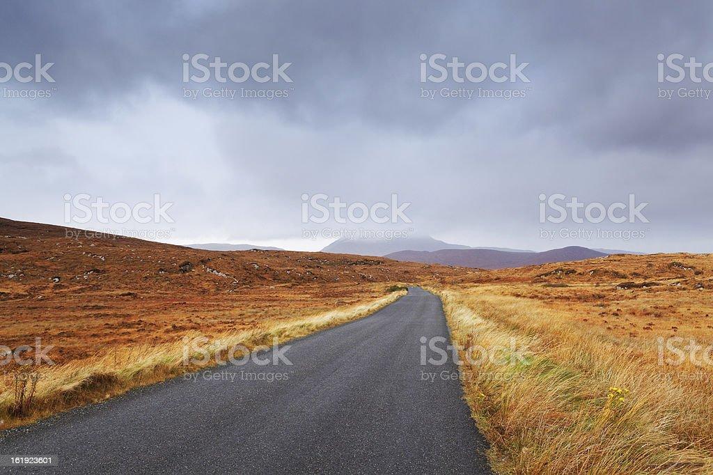road in Ireland royalty-free stock photo