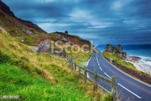 istock road in Ireland 451181107