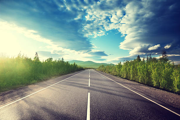 road in mountains – Foto