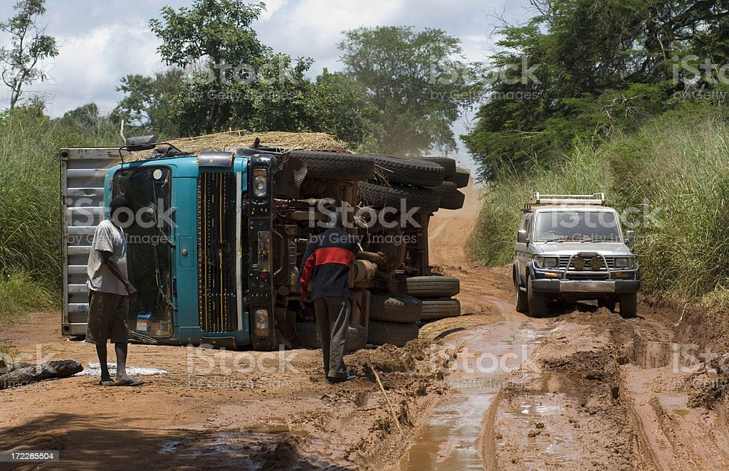 Route dans le sud du Soudan - Photo