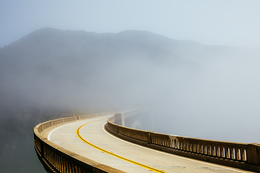 Road in the Morning Fog