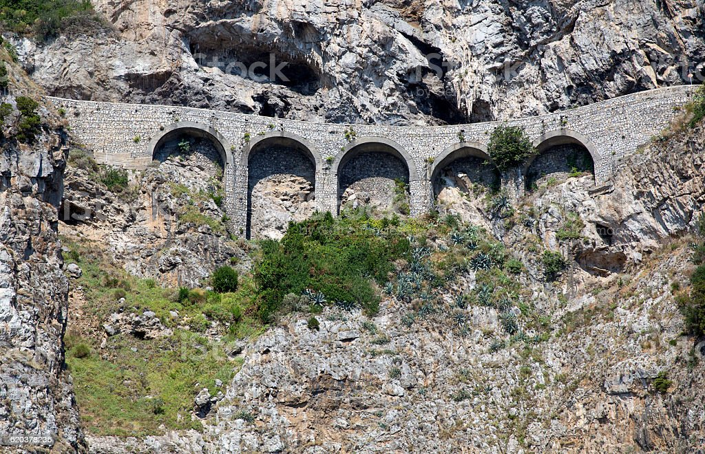 Droga w górach zbiór zdjęć royalty-free