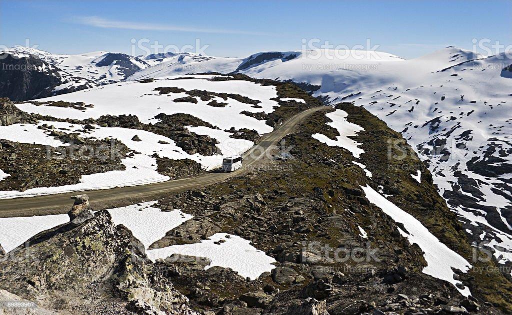Дорога в горы Стоковые фото Стоковая фотография