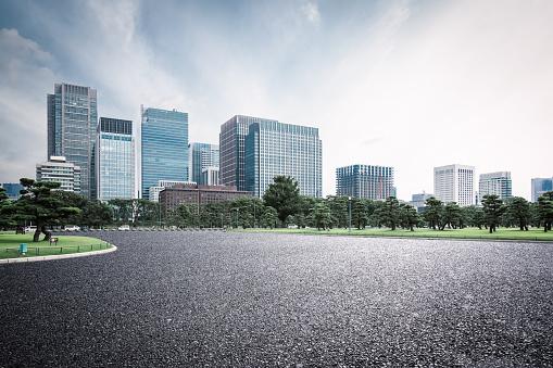 Road, Urban Skyline,Tokyo - Japan,City Street, Cityscape