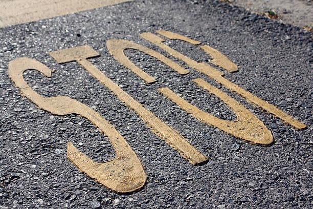Road junction- Haltestelle Wort – Foto