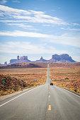 istock Road Leading to Oljato-Monument Valley 1249531979