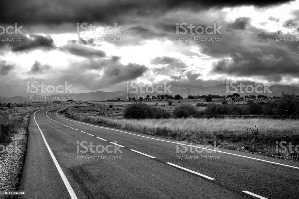 Amante de la carretera - foto de stock