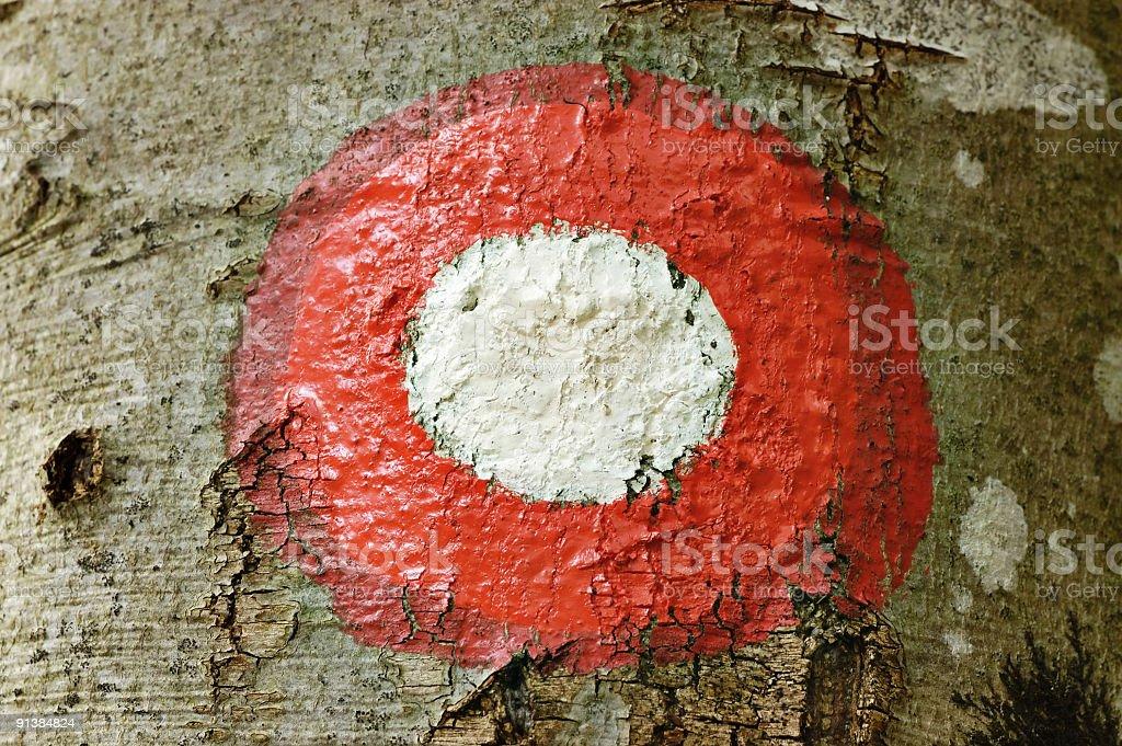 Road Marker royalty-free stock photo