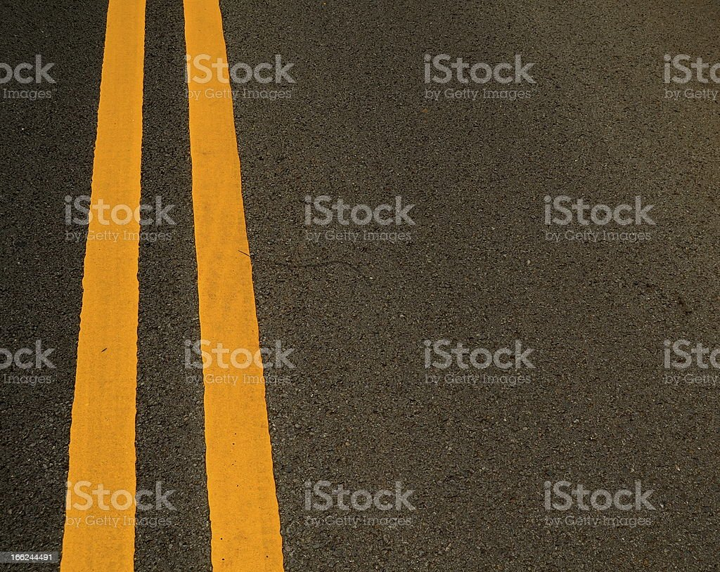 Road Markings stock photo