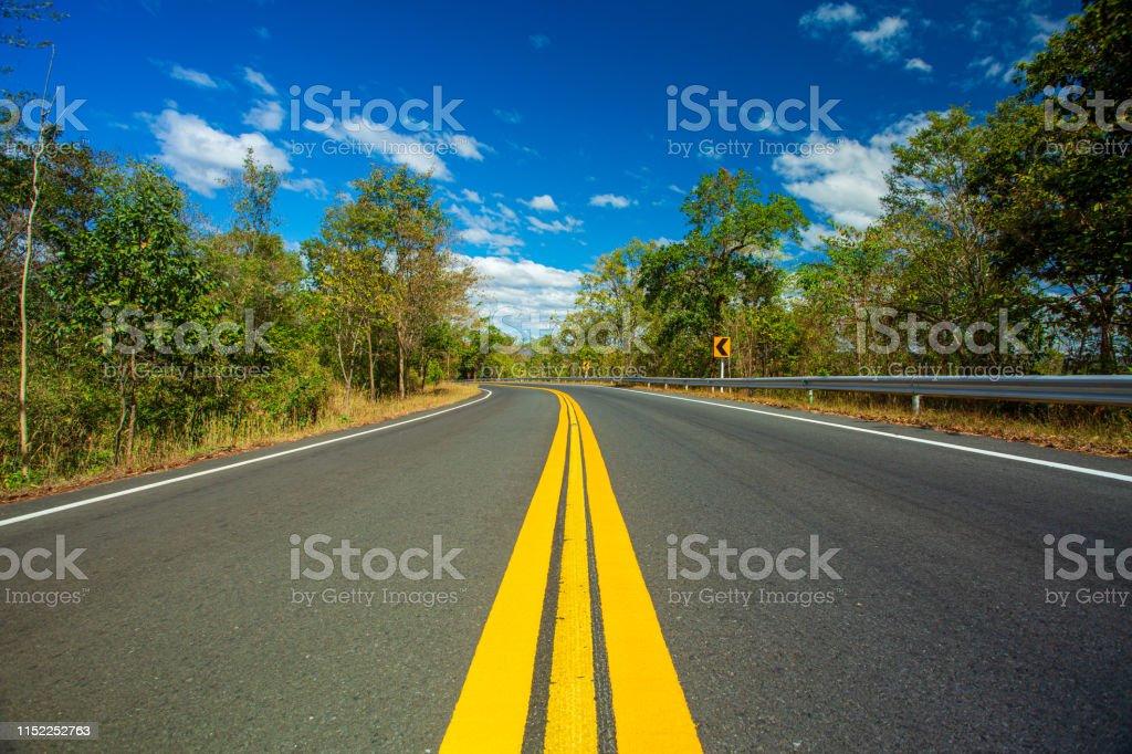 Multiple Lane Highway, Highway, Meadow, Plain, Road