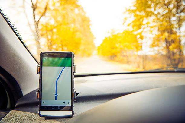 road navigation stock photo