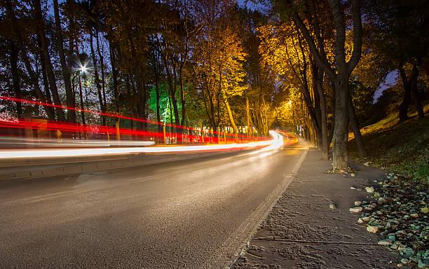 Road bei Nacht – Foto