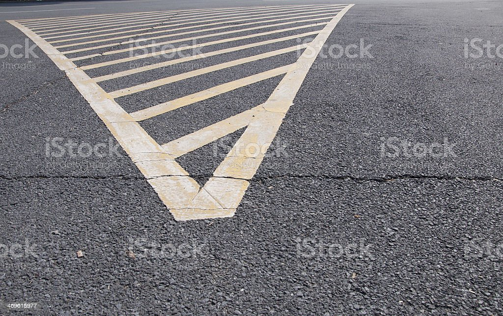 road no parking area stock photo
