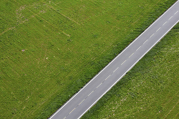road - straight stock photos and pictures