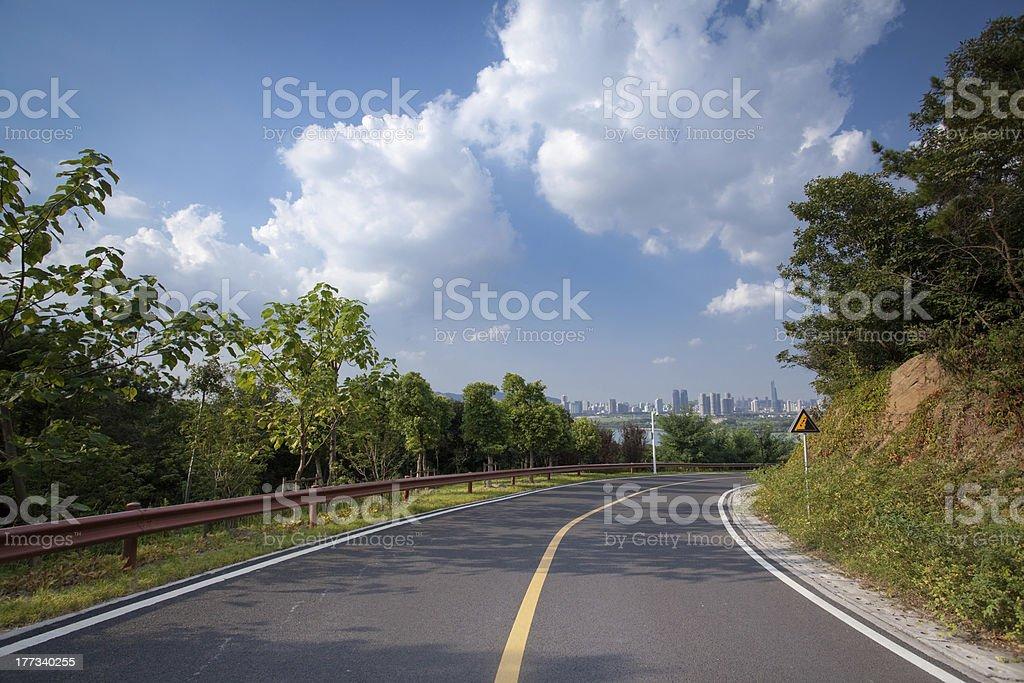 Road royalty-free stock photo