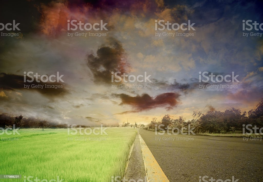Road, royalty-free stock photo
