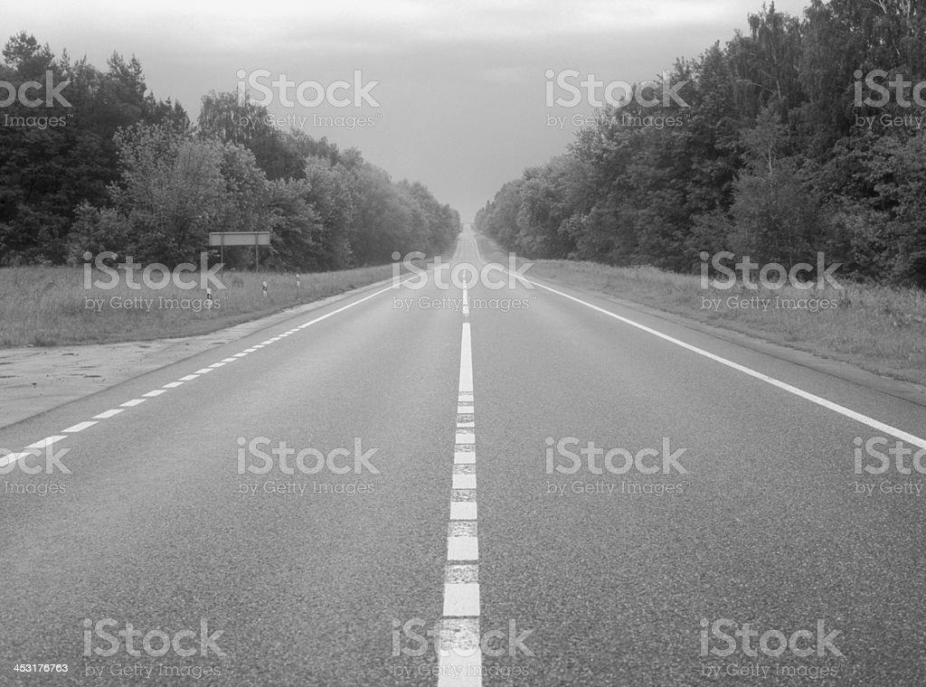 Road. royalty-free stock photo