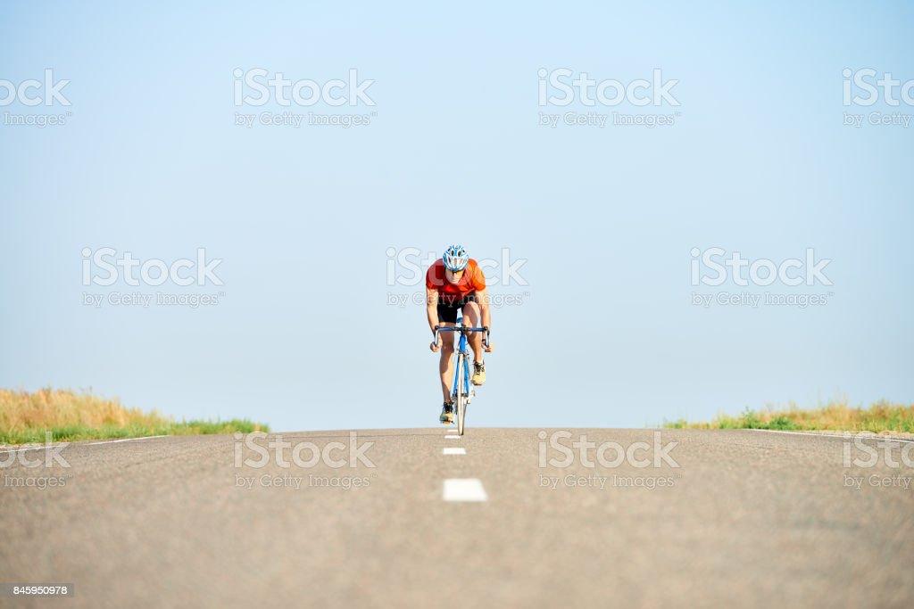 Straßenrennen bei Wettbewerb – Foto