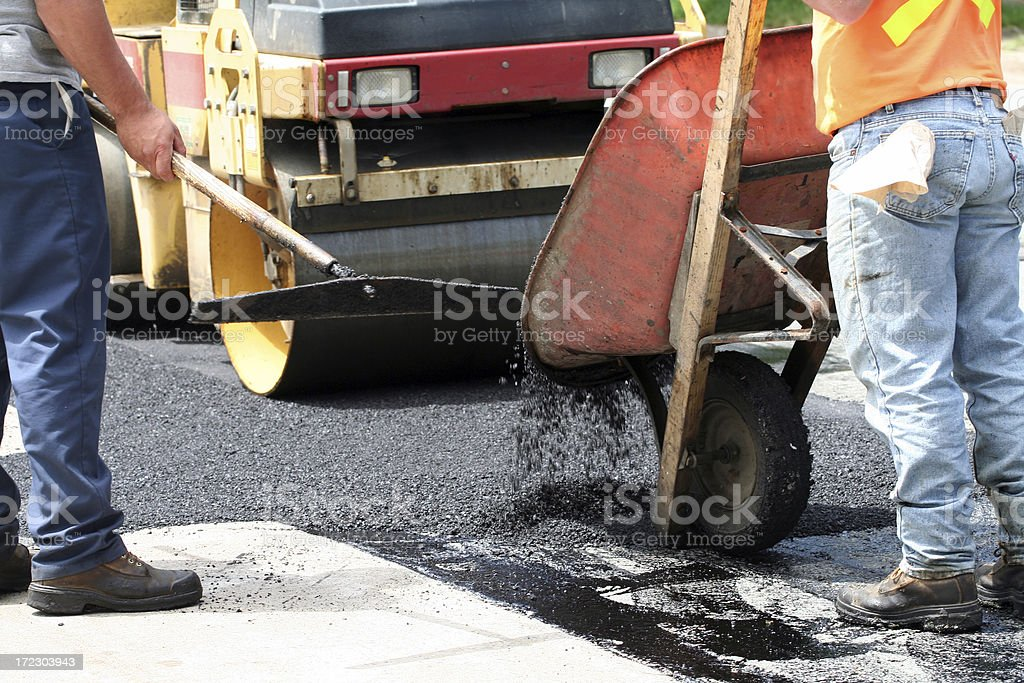 Road Repair - 2 royalty-free stock photo