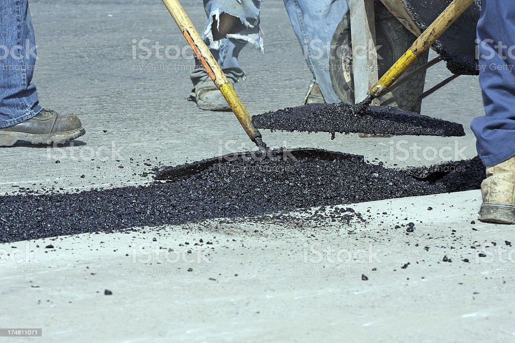 Road Repair royalty-free stock photo