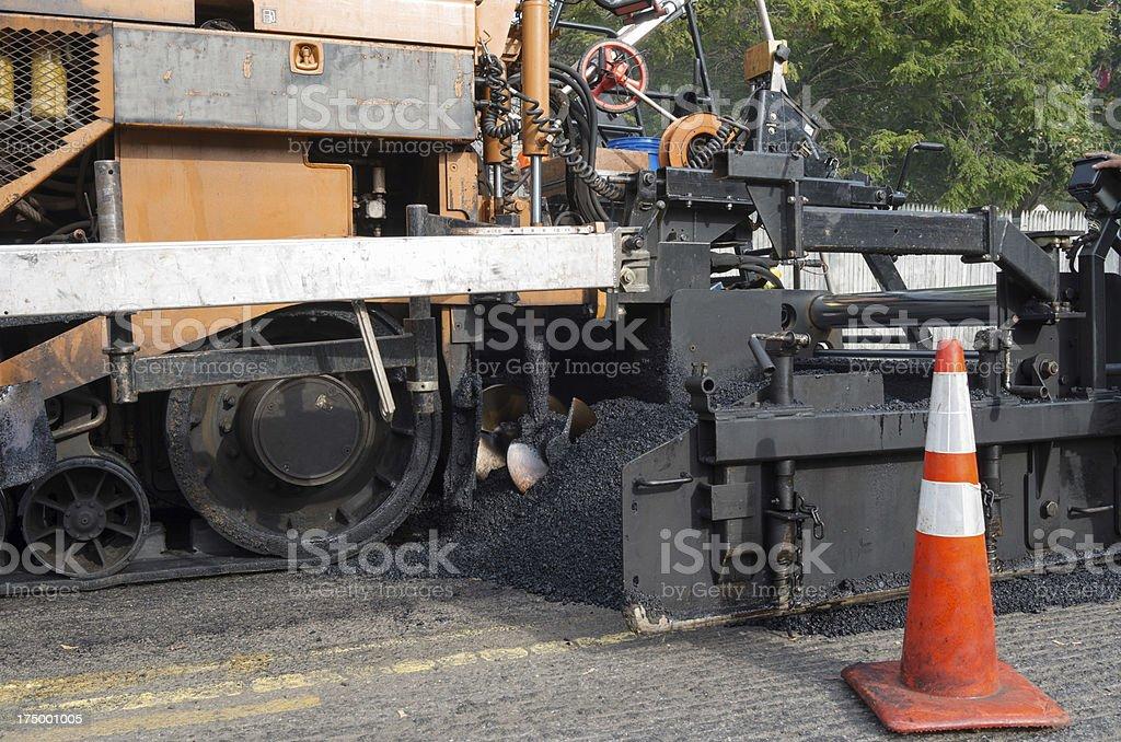 Road Resurfacing Equipment stock photo