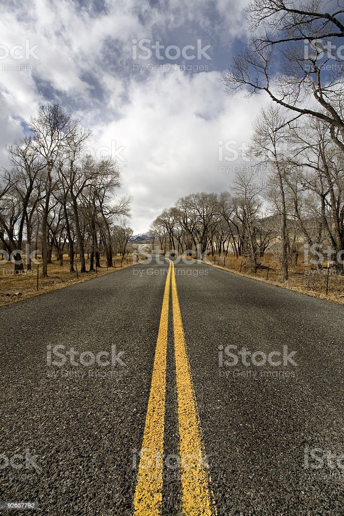 road rural royalty-free stock photo