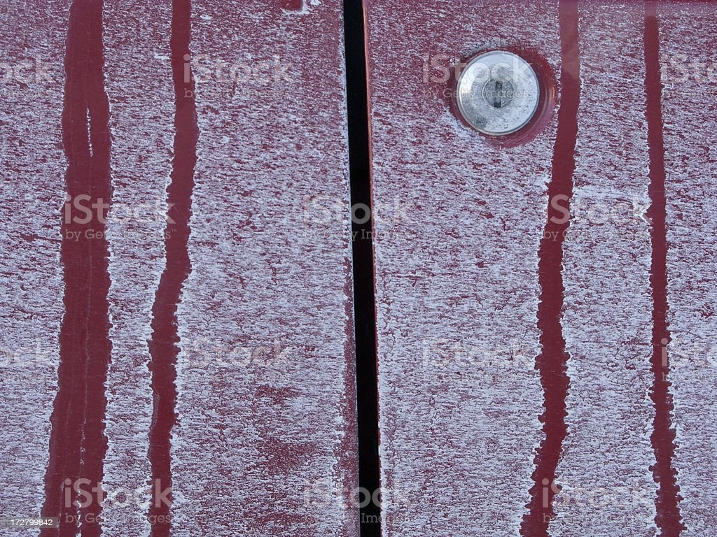 Road Salt Corrosion royalty-free stock photo