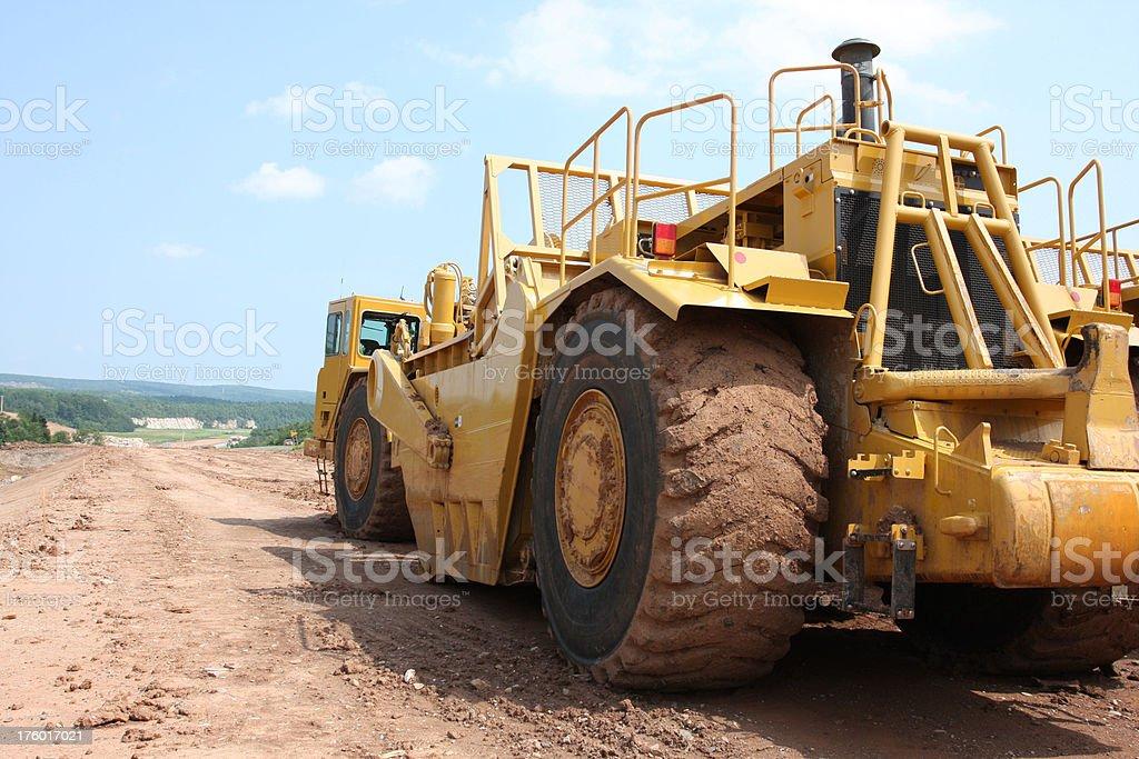 Road Scraper royalty-free stock photo
