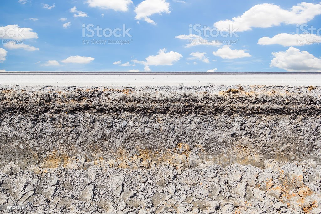 road section stock photo