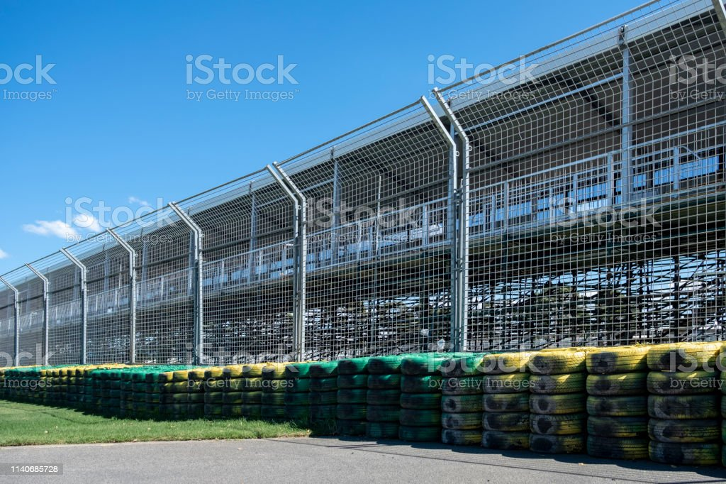 Road side of a Motorsports Track and Speed Damping and Safety...