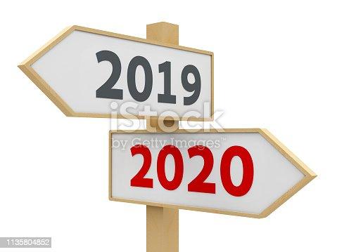istock Road sign 2020 1135804852