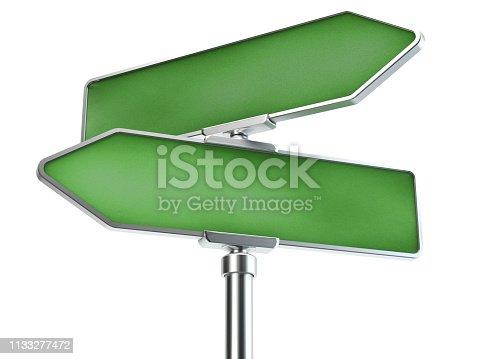 186103814istockphoto Road sign, 3D illustration 1133277472