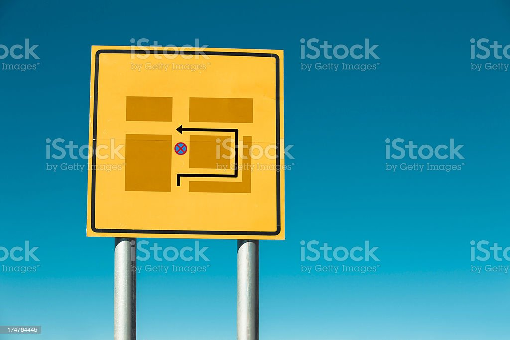 road sign concepts royalty-free stock photo