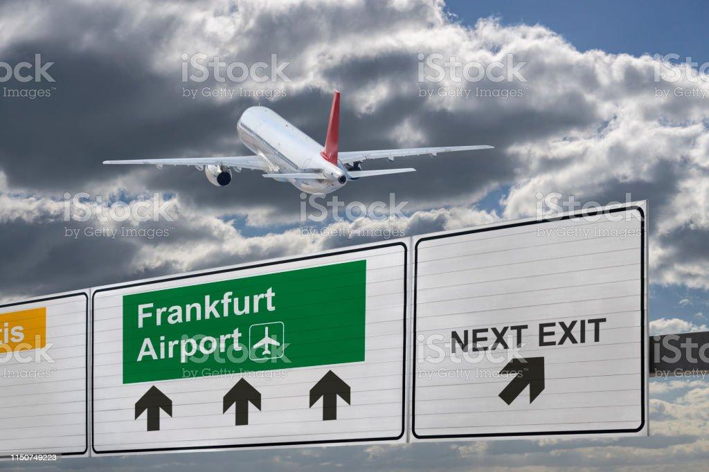 Condor Frankfurt Ankunft