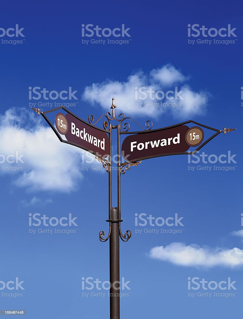 Road Signs. royalty-free stock photo