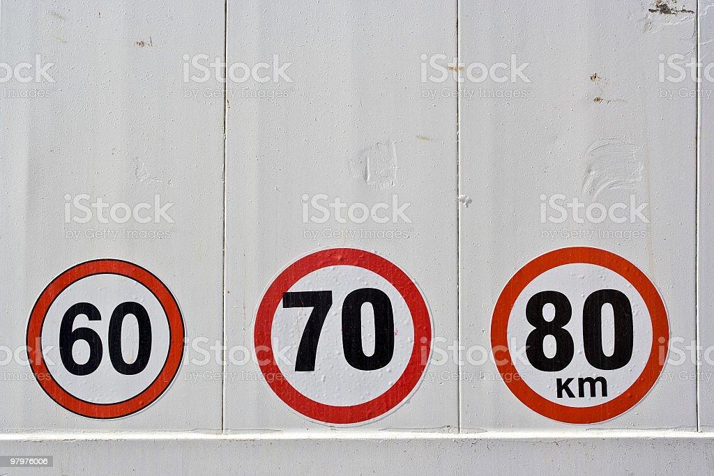 Route les panneaux - Photo