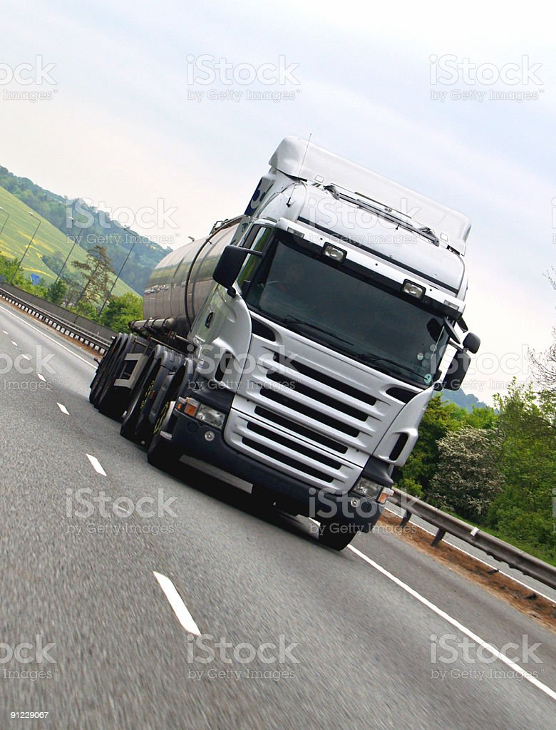 Road Tanker royalty-free stock photo