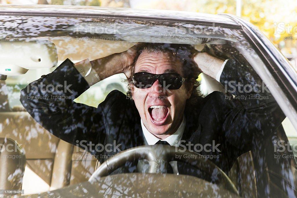 Road terror royalty-free stock photo