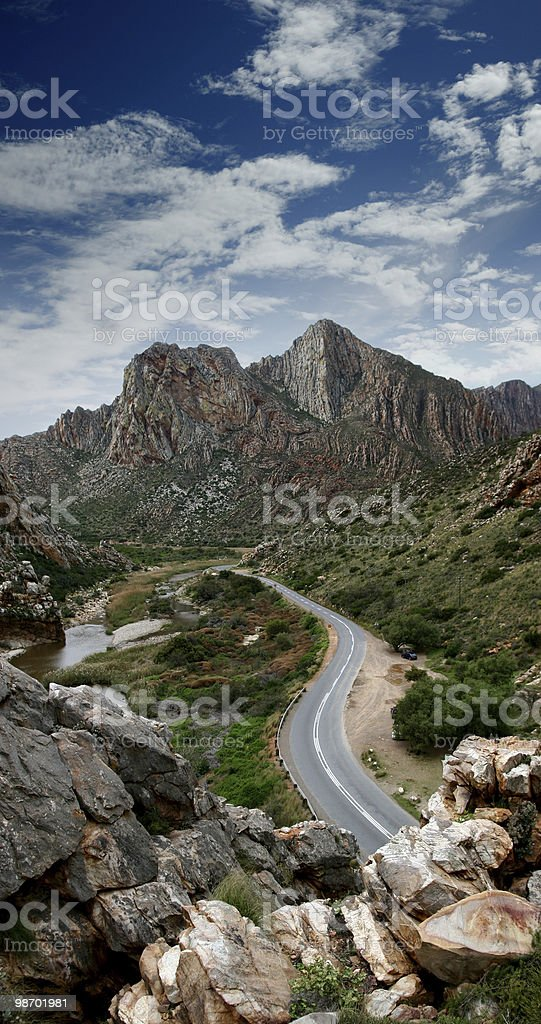 road through paradise royalty-free stock photo