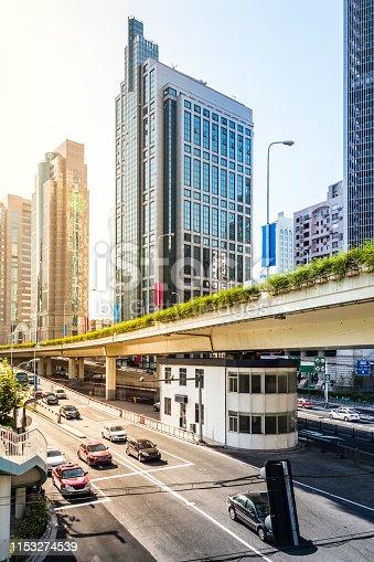 Strasse durch Shanghai, China