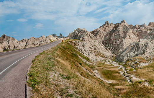 istock Road Through the Badlands 1049923714