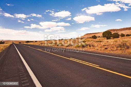 Road in the middle of Utah