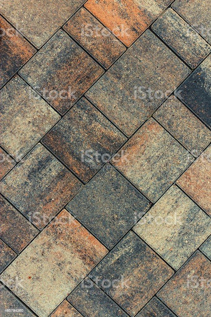 Road tile stock photo