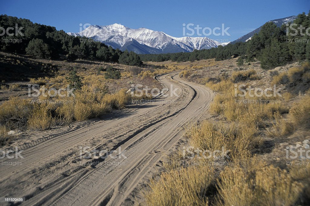 Road to Adventure royalty-free stock photo