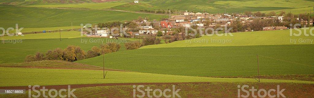 Road to Anatolian village royalty-free stock photo