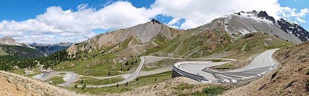 road, Col d'Izoard Alpen Frankreich – Foto